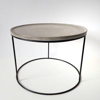 """Журнальний столик з бетону """"Circle"""" @odudlab"""