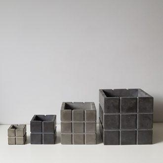 куб квадрат из бетона