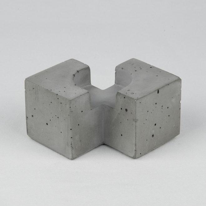 Підсвічник з бетону Тесс @odudlab