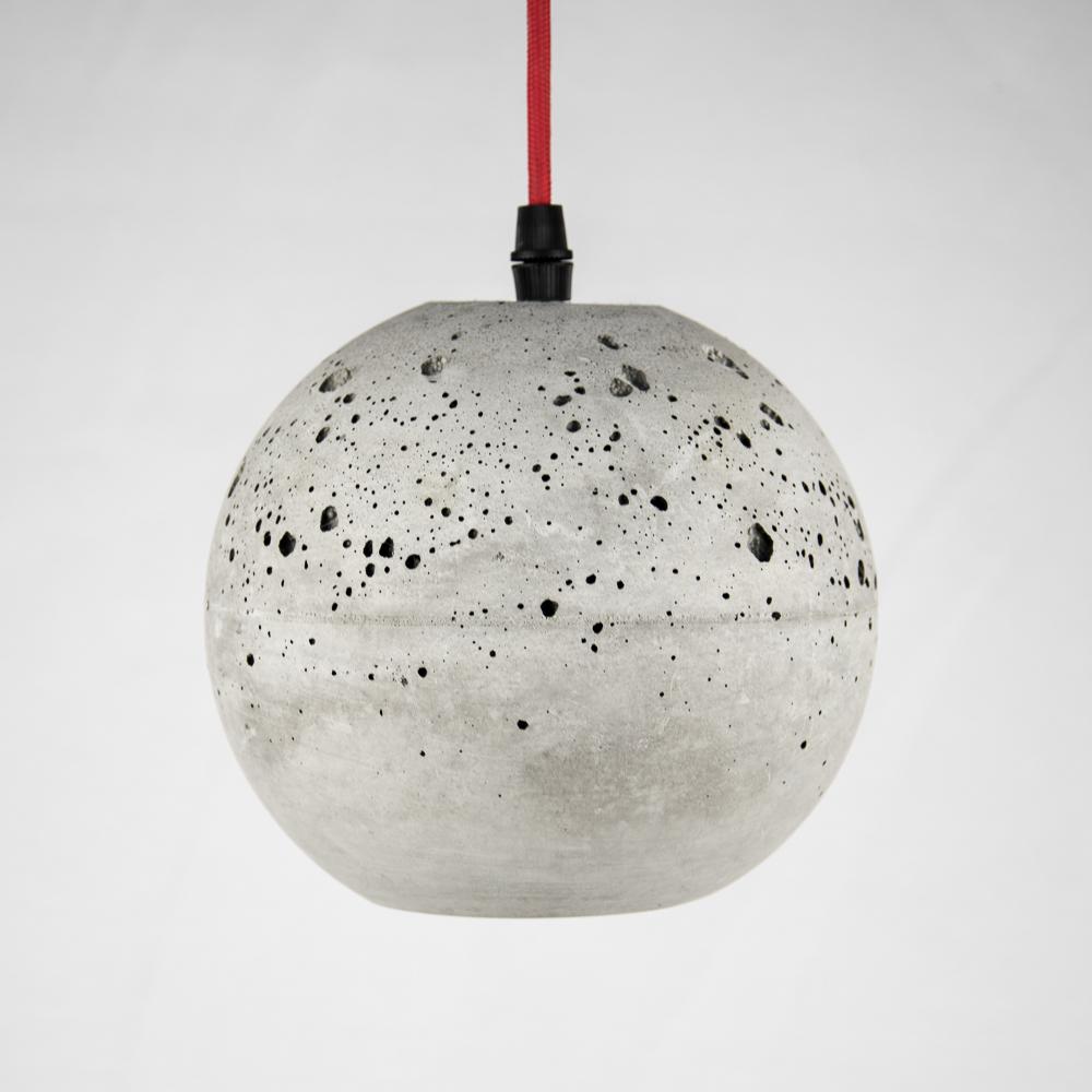 Светильник из бетона Шар @odudlab