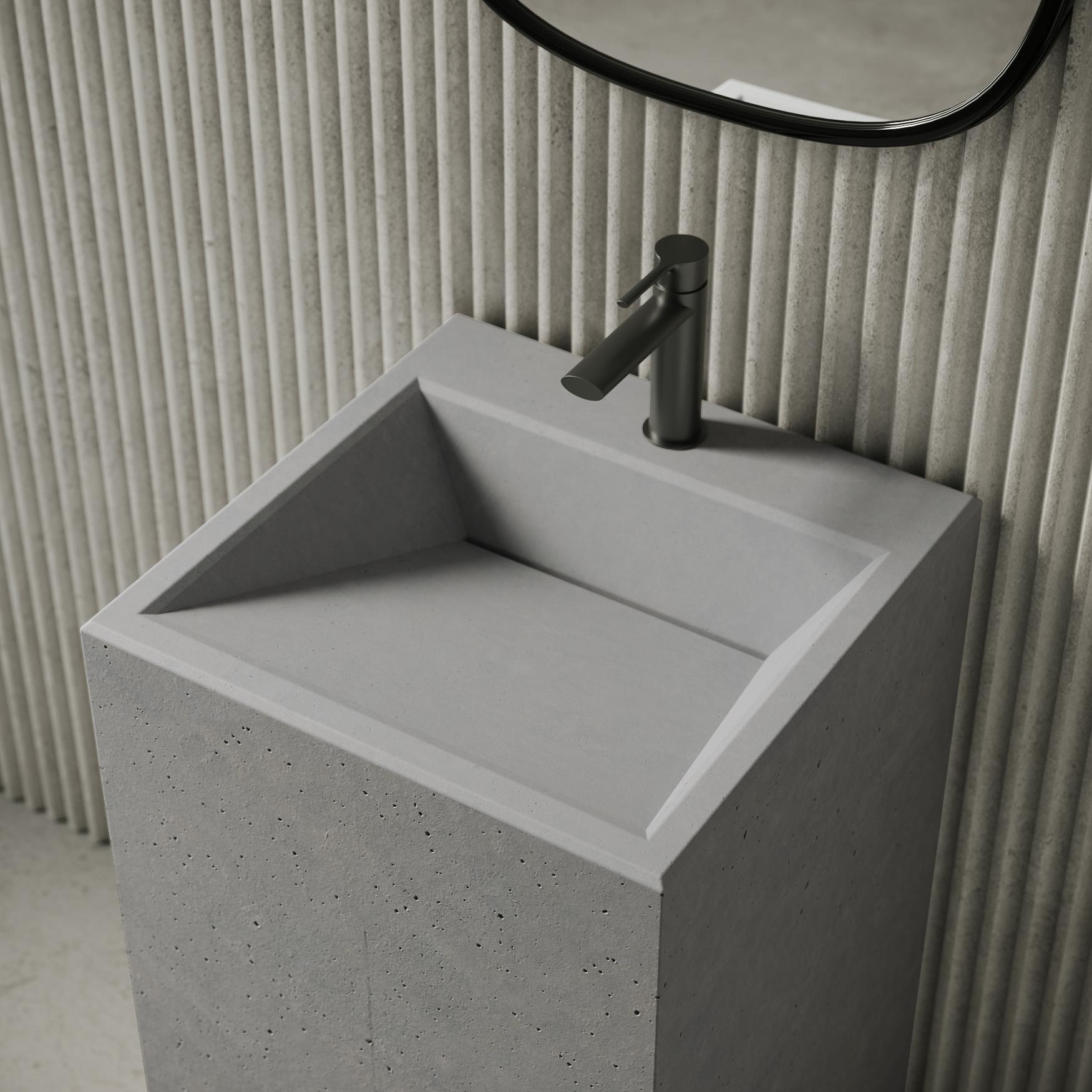 Умывальник из бетона керамзитобетон d800 характеристики