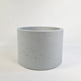Горщик з бетону «Циліндр 33» ral 7047