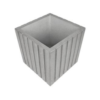 Вазон з бетону Куб