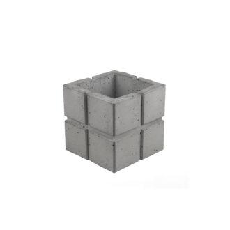 Вазон з бетону «Куб Cuadrado 11»