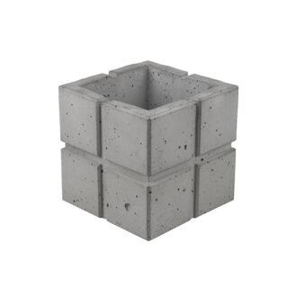 Вазон з бетону «Куб Cuadrado 16»