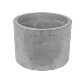 Горщик з бетону «Циліндр 33»